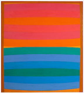 Michael Loew - Untitled (Red Horizon)