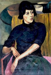 Portrait of a Young Woman, Alfred Aaron Wolmark, 1930s