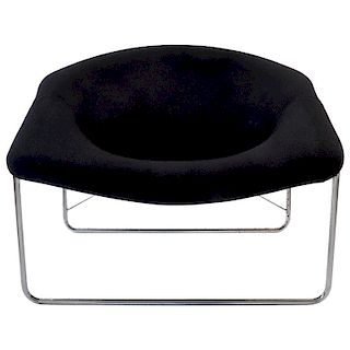 Olivier Morgue Cubic Chair Airborne International, France, 1968
