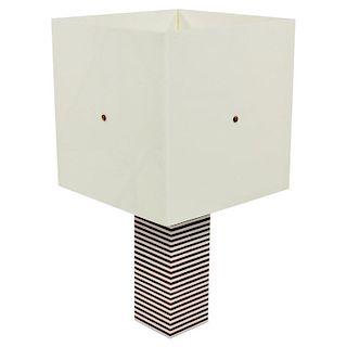 Italian 1970s Acrylic Table Lamp
