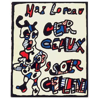 Jean Dubuffet , Cerceaux ‰Û÷Sorcellent Limited Edition, 1967
