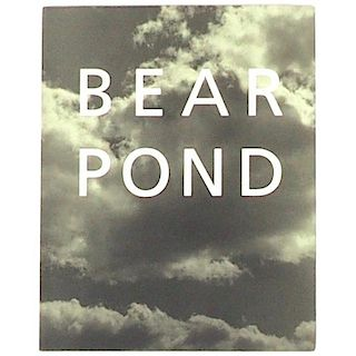 "Bruce Weber ""Bear pond"" First Edition 1990"