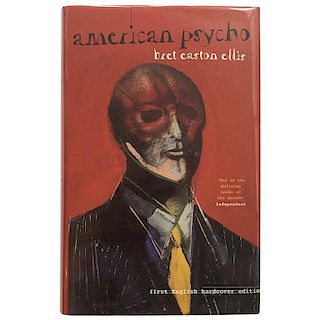 American Psycho Bret Easton Ellis First Hardback Edition