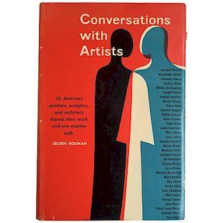 Selden Rodman ‰ÛÒ Conversations with Artists First Edition, 1957 'Scarce'