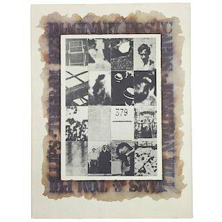 """Imaginary Postcards ‰ÛÒ Jonathan Williams & Tom Phillips 1975"" Book"