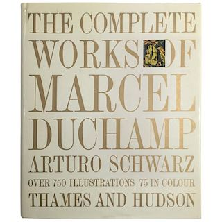 """""""The Complete Works of Marcel Duchamp"""" Catalogue - 1969"""
