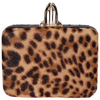 Christian Louboutin Leopard Clutch Bag