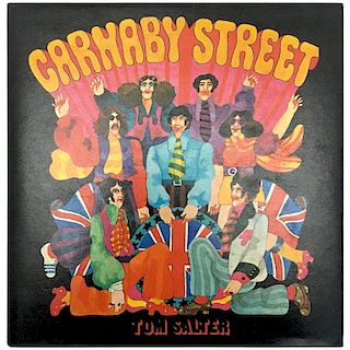 Carnaby Street, Tom Salter & Malcolm English, First Edition, 1970