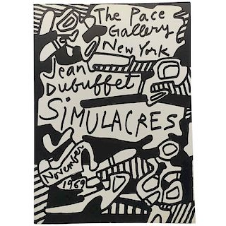 Jean Dubuffet Simulacres, 1969