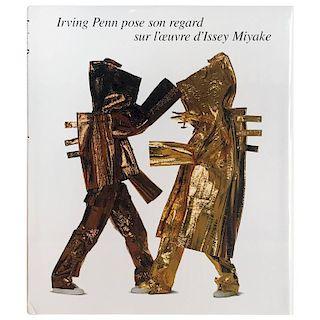 Irving Penn Irving Penn Pose Son Regard Sur L'oeuvre D'Issey Miyake