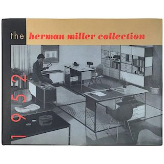 """""""The Herman Miller Collection 1952 - Ralph Caplan & George Nelson"""" Catalogue"""
