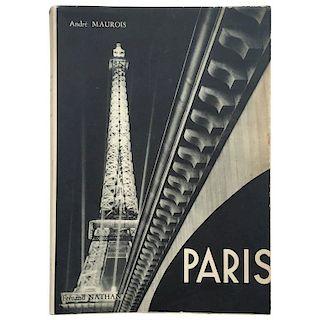 """""""André Maurois - Paris"""" Book"""