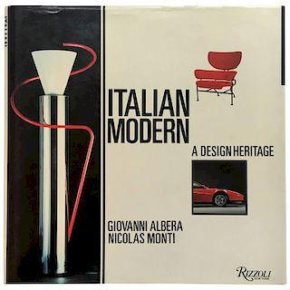 """""""Giovanni Albera & Nicolas Monti – Italian Modern: A Design Heritage"""" Book"""