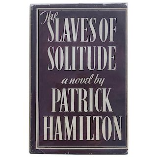 Patrick Hamilton, The Slaves of Solitude, First Edition Book