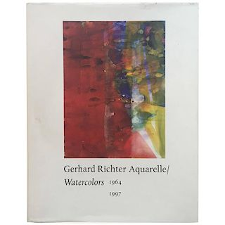 Gerhard Richter, Aquarelle or Watercolours, 1964-1997
