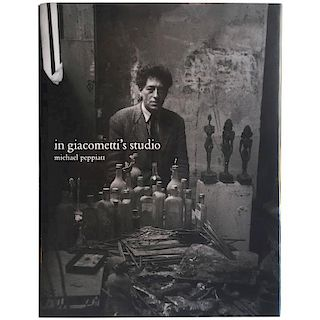In Giacometti's Studio, Michael Peppiatt