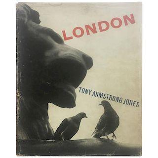 London Tony Armstrong Jones (Lord Snowdon) 1st edition 1958