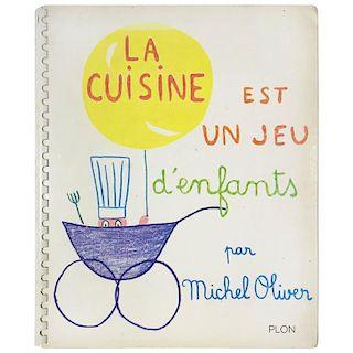 Jean Cocteau, La Cuisine Est Un Jeu D'enfants by Michel Oliver, 1963