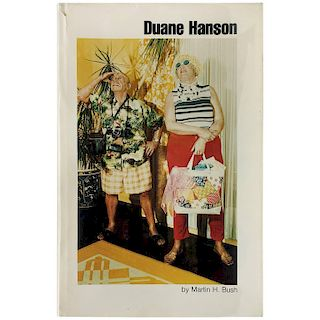 Duane Hanson' Book by Martin H Bush, 1976