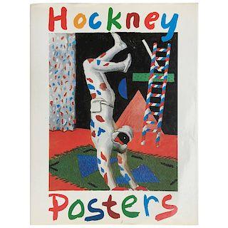 """David Hockney """"Hockney Posters"""" First Edition, 1987"""