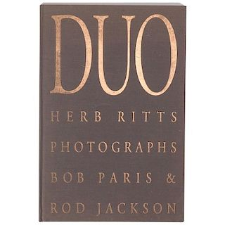 Herb Ritts Duo First Edition 1991