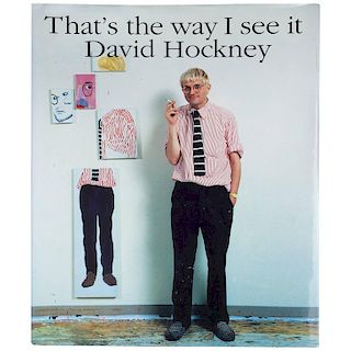 David Hockney That's The Way I See It, 1st Edition 1993
