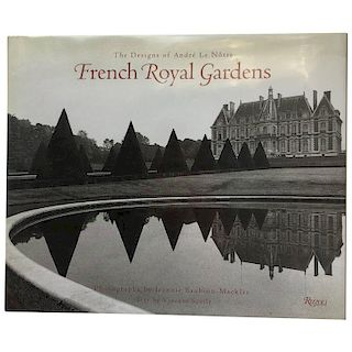 """""""French Royal Gardens: The Designs of Andre Le Notre"""" Book"""