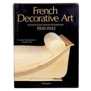 French Decorative Art 1900-1942 Societe de Artistes Decorateurs