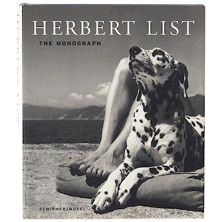 Herbert List The Monograph