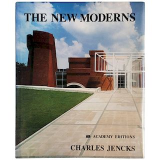 """""""The New Moderns-Charles Jencks"""" Book, First Edition, 1990"""