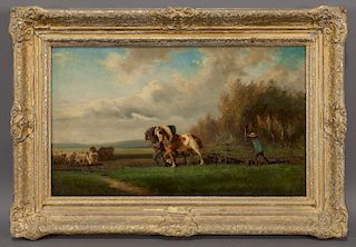 """Alexander Ritter von Bensa """"Untitled (The sowing)"""""""