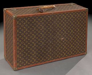 Vintage Louis Vuitton Alzer hard sided suitcase,
