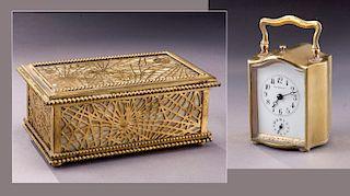 Tiffany & Co. carriage clock,