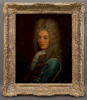 "In the style of Nicolas de Largilliere ""Portrait"