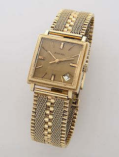 Juvenia 18K gold wristwatch