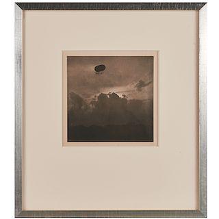 """Alfred Stieglitz, """"Dirigible"""", 1910"""