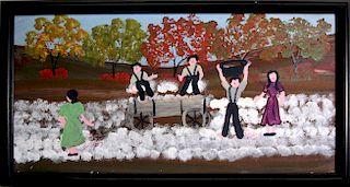 Outsider Art, Annie Wellborn, Cotton for Christmas Money