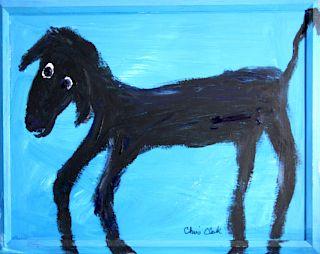 Outsider Art, Chris Clark, Maya (Ann & Ted's dog)