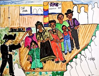 Outsider Art, Linda Bruton, Sale of the Slaves, The