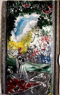 Outsider Art, Leonard Jones, Untitled