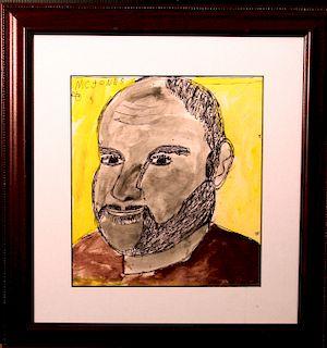 Outsider Art, MC Jones,Self-Portrait