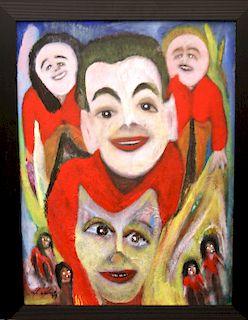 Outsider Art, Mario Mes, Las Refescanto de un Pintar
