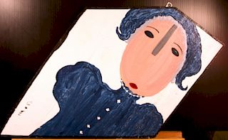 Outsider Art, Mose Tolliver, Martha Washington