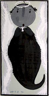 Outsider Art, Mose Tolliver, Angel