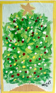 Outsider Art, Mose Tolliver, Christmas Tree