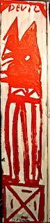 Outsider Art, RA Miller, King Devil