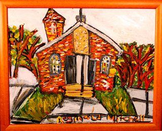 Outsider Art, Reginald Mitchell, Little Baptist Church 9th Ward, New Orleans