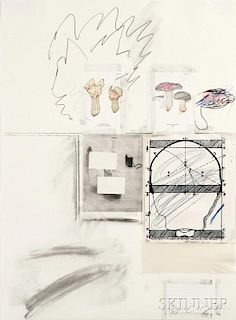 Cy Twombly (American, 1928-2011)      Natural History Part 1 No. II