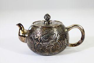 Pure Silver Teapot