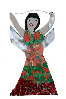 Outsider Art, Missionary Mary Proctor, Untitled